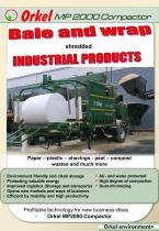 MP2000 Industry Baler