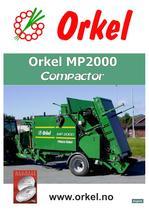 Orkel MP 2000 Compactor
