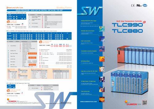 Multi-loop Temperature Controller: TLC990, TLC880