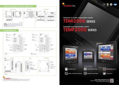 TEMI(TEMP, HUMID program controller) 2000 series