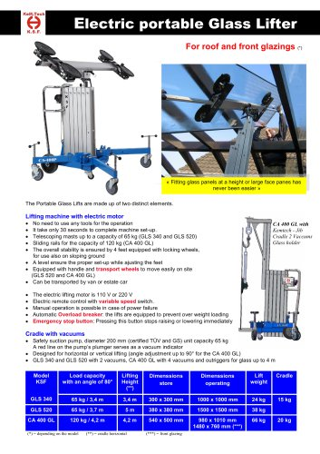Portable Glass Lifter