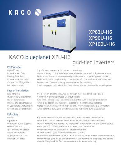 KACO blueplanet XPU-H6