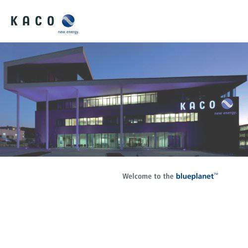 KACO company brochure