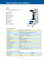 Digital Low Load Brinell Hardness Tester HBS-62.5 - 1