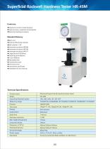 Motorized Superficial Rockwell Hardness Tester HR-45M - 1