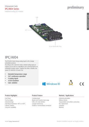 Analog I/O Module