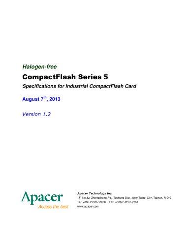 Apacer Industrial CF