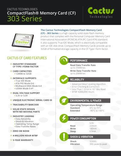 Cactus CF 303 Series