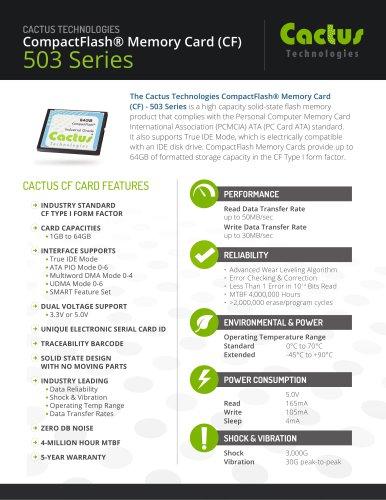 Cactus CF 503 Series
