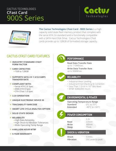 Cactus CFast 900S Series
