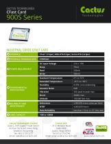 Cactus CFast 900S Series - 2