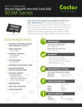 Cactus microSD 803M Series - 1