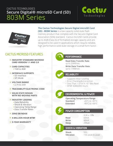 Cactus microSD 803M Series