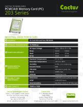 Cactus PC-Card 203 Series - 2