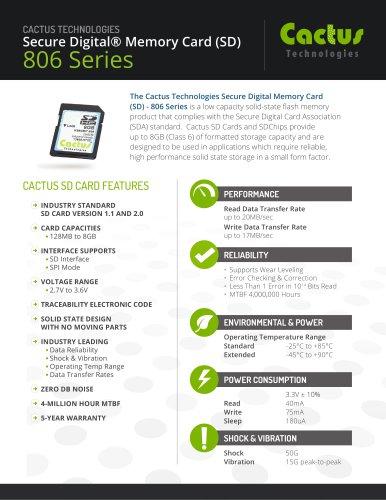 Cactus SD Card 806 Series