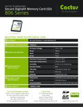 Cactus SD Card 806 Series - 2