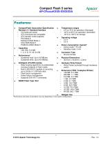 CompactFlash Series 5 - 2