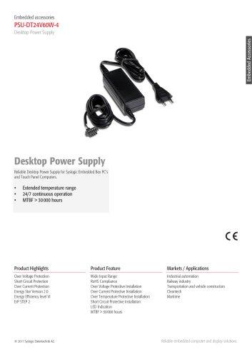 Desktop Power Supply