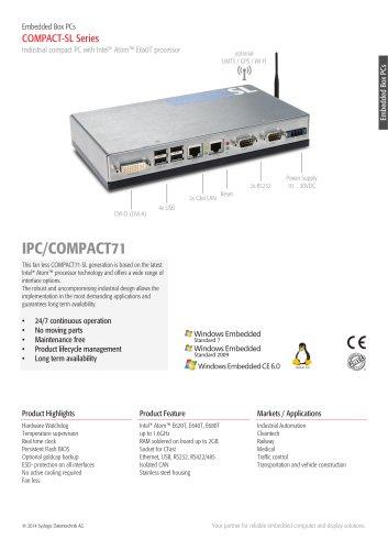 IPC/COMPACT71 - SL