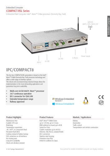 IPC/COMPACT8 -RSL