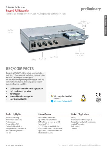 Network Video Recorder Compact 8