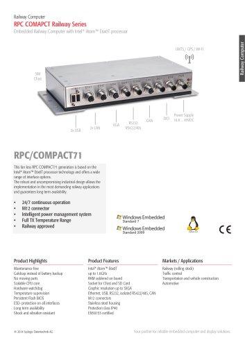 RPC/COMPACT71