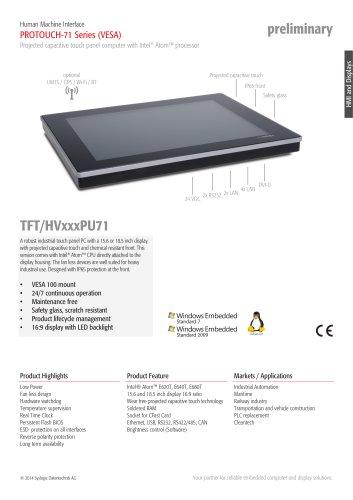 TFT/HVxxxPU-71