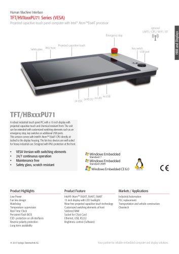 TFT/HVXxxxPU71