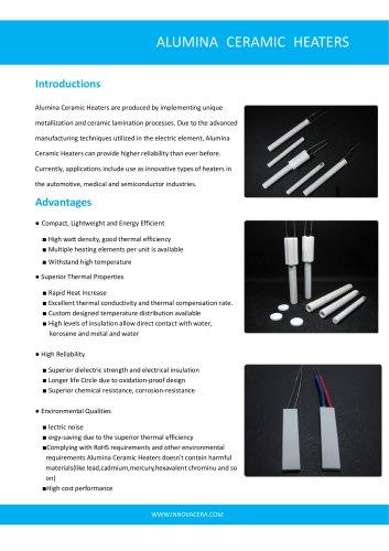 Alumina Ceramic Heater|Innovacera