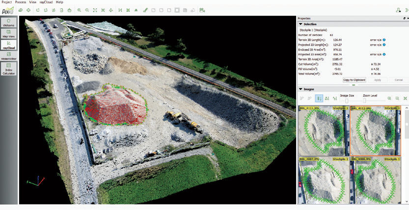 Software para mapeamento / de topografia / para drone / 3D - Pix4D