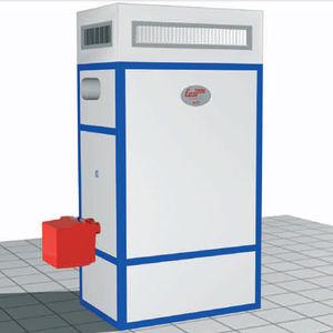 gerador de ar quente estacionário