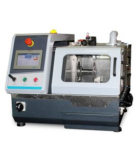 máquina de corte para laboratórios de metalografia
