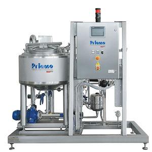 linha de produção de iogurte líquido