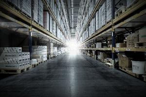 estante industrial para armazém