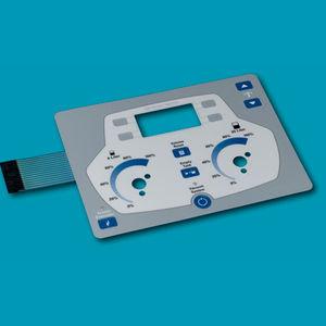 teclado embutido / sem dispositivo apontador / de membrana / em poliéster