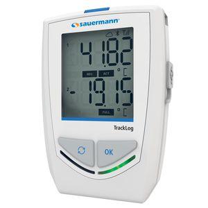 registrador de dados de temperatura e umidade / sem fio / com display LCD / climático