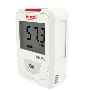 registrador de dados de temperatura / de umidade relativa / USB / com display LCD
