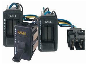 interruptor deslizante / unipolar / de controle / em termoplástico