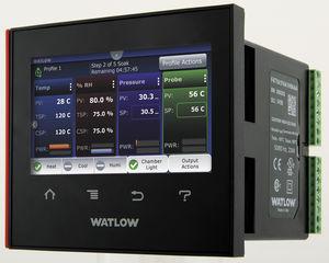 controlador de temperatura gráfico