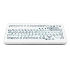 teclado de mesa / 104 teclas / sem dispositivo apontador / de curso curto