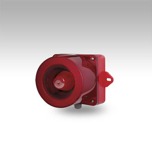 sinalizador sonoro para alarme com luz de LED