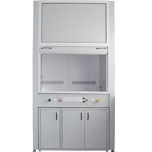armário de laboratório / de armazenamento / de piso / metálico