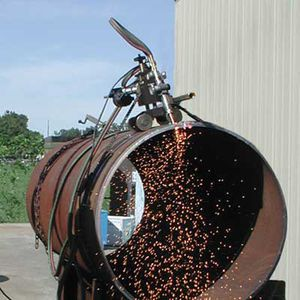 cortador de tubos de corrente