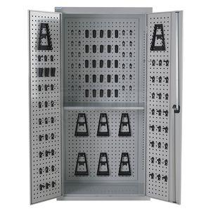 armário para ferramentas / para oficina / de piso / com prateleiras