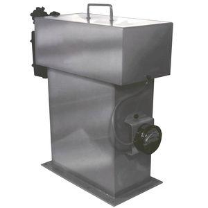 coletor de pó com mangas filtrantes / limpeza a jato pulsado / compacto