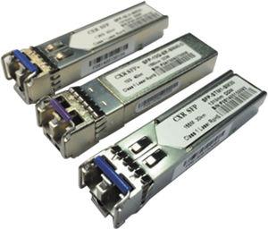 transceptor para fibra óptica