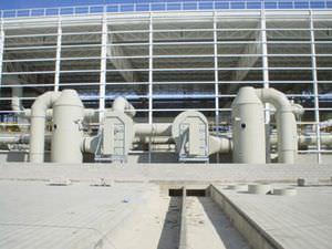 filtro biológico para tratamento de águas residuais