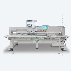máquina de bordar com 2 cabeças