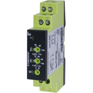 relé de monitoramento de tensão / 1NA/NF / CA/CC / monofásico