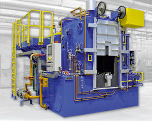 forno de carbonitruração